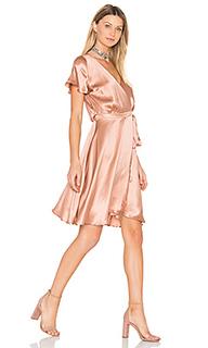 Платье с запахом lynn - amour vert