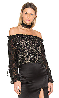 Lace off the shoulder top - J.O.A.