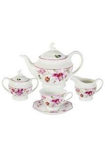 """Чайный сервиз """"Розовые цветы"""" Primavera"""