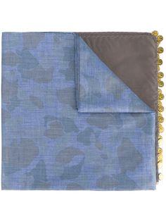 шарф с камуфляжным принтом  Kolor