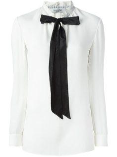 блузка с бантом  Valentino