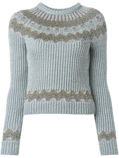 укороченный свитер  Valentino