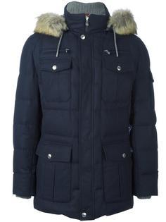 пальто с накладными карманами Brunello Cucinelli