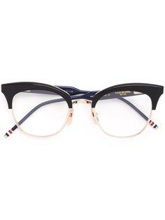 "очки в оправе ""кошачий глаз"" Thom Browne"