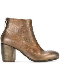 ботинки по щиколотку с эффектом металлик Marsèll