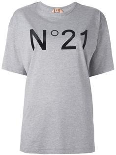 декорированная  футболка  Nº21