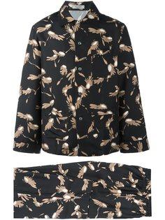 пижама с принтом крыльев Valentino