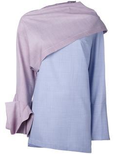 асимметричное платье Jacquemus