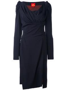 платье с V-образным вырезом Vivienne Westwood Red Label