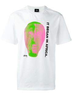 футболка 'Dizzy 8 Ball' Stussy