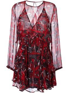 платье с оборками  Iro