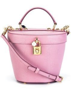 сумка-тоут с эффектом кожи ящерицы Dolce & Gabbana