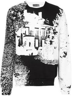 толстовка с принтом дома Dior Homme