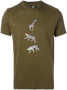 футболка с принтом животных  Ps By Paul Smith