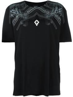футболка с узором  Marcelo Burlon County Of Milan
