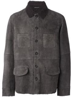 кожаная куртка на пуговицах Desa Collection