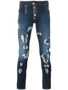 джинсы прямого кроя 'Scars' Philipp Plein