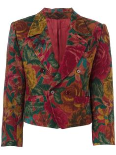 woven floral jacket Kenzo Vintage