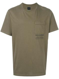футболка с нагрудным карманом Maharishi