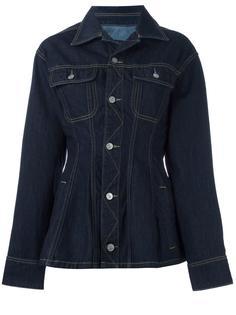 джинсовая куртка кроя слим Vivienne Westwood Anglomania