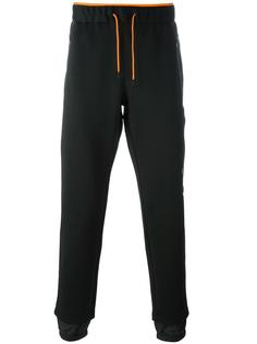 спортивные брюки на шнурке Ea7 Emporio Armani