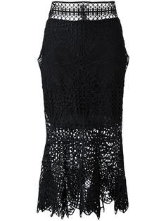 кружевная юбка Jonathan Simkhai