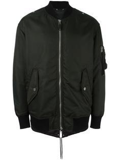 классическая куртка-бомбер Diesel Black Gold