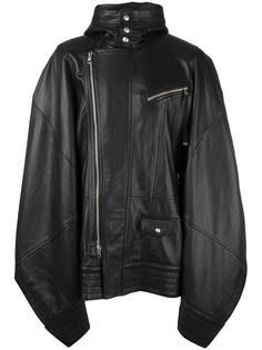 кожаное пальто Diesel Black Gold