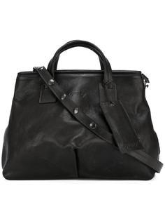 сумка на плечо с тисненым логотипом Marsèll