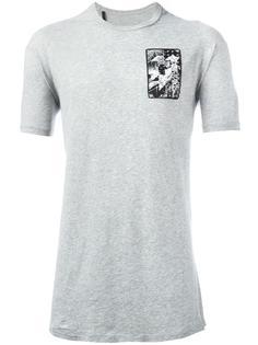 футболка с геометрическим принтом 11 By Boris Bidjan Saberi