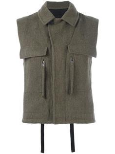 patch pocket waistcoat Haider Ackermann