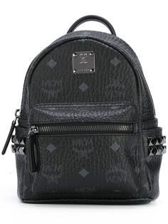 рюкзак с принтом-логотипом MCM