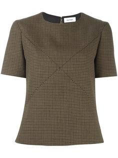 houndstooth top Courrèges