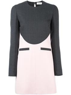 houndstooth panel dress Courrèges