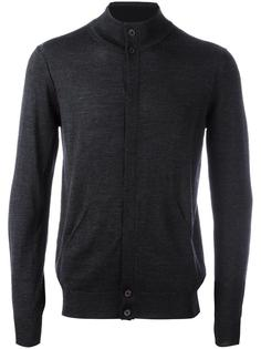 concealed fastening cardigan Paolo Pecora