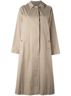 long line trench coat Burberry Vintage