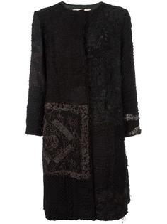 пальто с необработанными деталями By Walid