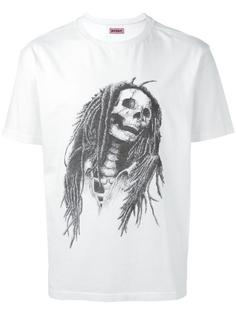 skull print T-shirt Palm Angels