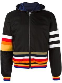 striped hooded jacket Iceberg