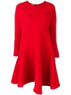 асимметричное платье с драпировками Marni