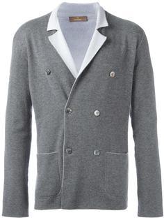 двубортный вязаный пиджак Cruciani