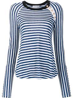 striped longsleeved T-shirt Derek Lam 10 Crosby