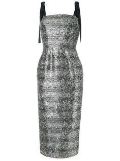платье миди с блестками Rebecca Vallance