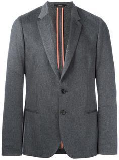 пиджак с прямоугольными лацканами Paul Smith