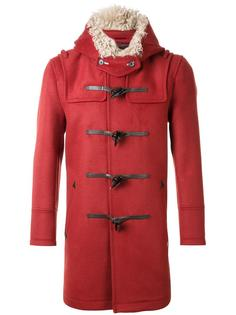 hooded duffle coat Loveless