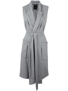 пальто без рукавов с поясом Lost & Found Ria Dunn