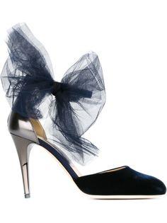 бархатные туфли 'Lou' Jimmy Choo