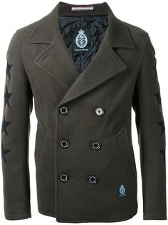 stars motif double-breasted coat Guild Prime
