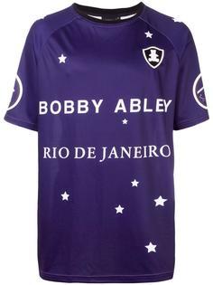 футболка с принтом логотипа Bobby Abley