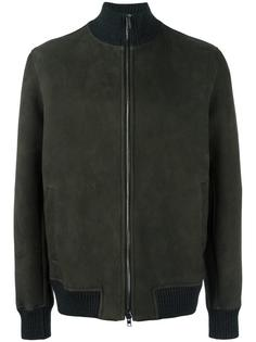 zipped bomber jacket Salvatore Santoro